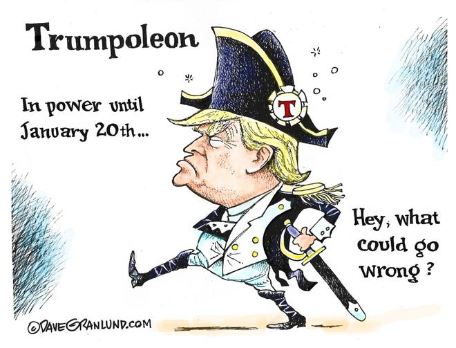 Dave Granlund on lame duck trump
