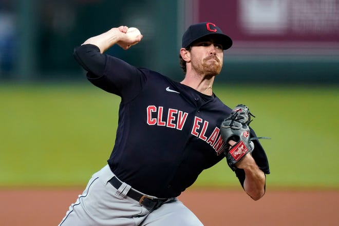 Shane Bieber of the Cleveland Indians is the unanimous choice to win the 2020 Cy Young Award for the American League.