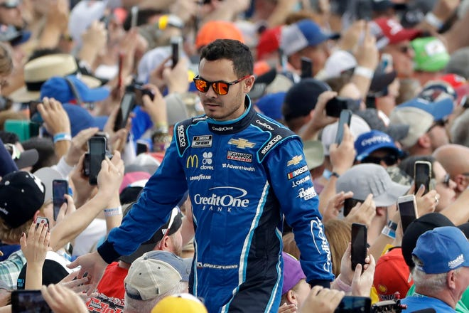 Kyle Larson was suspended for the 2020 NASCAR season after using a racial slur but was reinstated for 2021 and is finding plenty of forgiveness from fans.