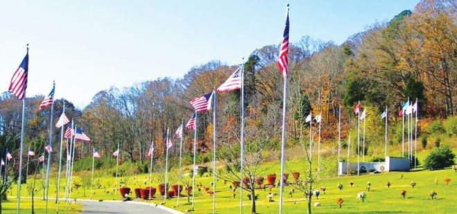 A ceremony will be held at Oak Ridge Memorial Park on Dec. 19 and up to 800 wreaths will be placed on the graves of military veterans as part of Wreaths Across America.
