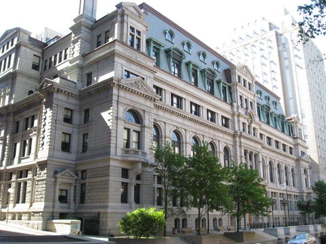 The John Adams Courthouse in Boston
