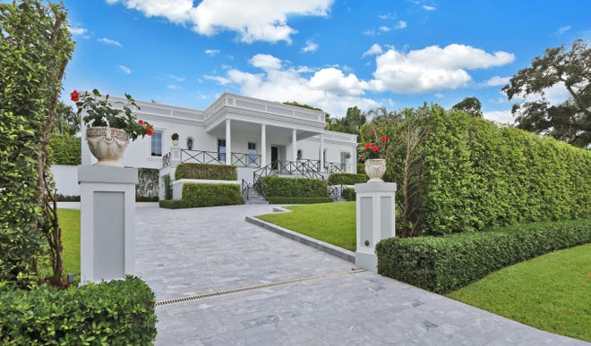 A recently renovated Palm Beach Regency-style house built in 1960 has changed hands for a recorded $6.32 million at 742 Slope Trail on the North End of Palm Beach.