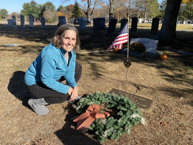Susan McGrail is raising money to lay approximately 1,150 wreaths on the graves of veterans in Hampton's cemeteries in lieu of their annual trip to Arlington National Cemetery for Wreaths Across America.