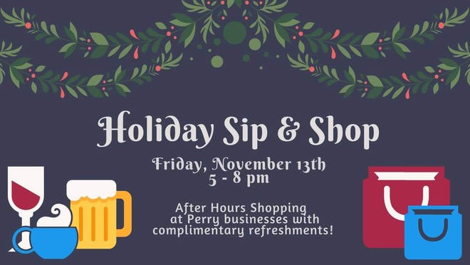 Enjoy an after hours shopping experience at Perry businesses from 5-8 p.m. on Friday, Nov. 13.