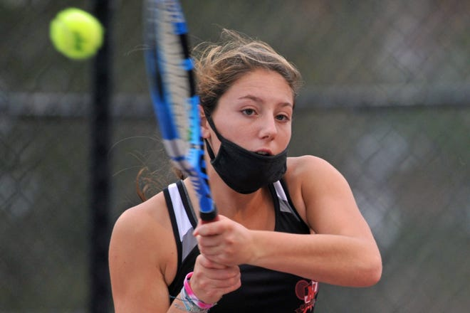 Leah Hart and the rest of the Narragansett girls tennis team was supposed to play Smithfield Saturday at 10 a.m. for the Division II title. After Friday washed out the Division I and one D-III semifinal, the league changed the schedule around so Hart and the Mariners will now play the Sentinels at noon.