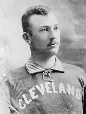 Cleveland Indians pitcher Cy Young poses in this undated photo at an unknown location.  Young made his major league debut in 1890 and pitched for five teams during his 22-year career.  The right-hand pitcher, winner of more major league games than any other pitcher, threw 749 complete games and won 511 games, both records.  Young was elected into the Baseball Hall of Fame in 1937.  He was born in 1867 and died in 1955.  The Cy Young Award was created in 1956 to honor the best major league pitcher annually.  (AP Photo)