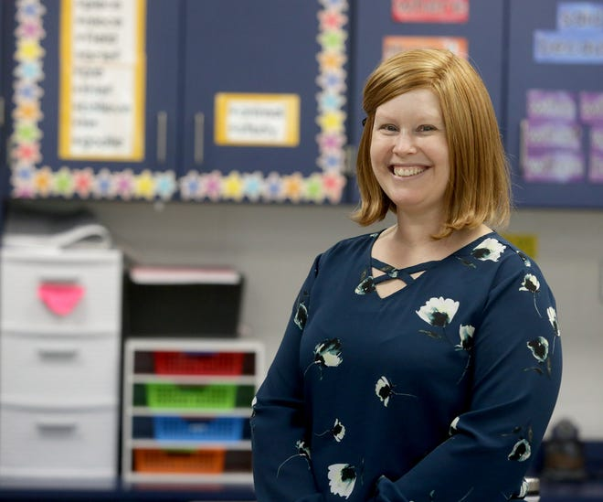 Lindsie Newtz, a second-grade teacher at Fairless Elementary, is The Massillon Independent's Teacher of the Month for November 2020.