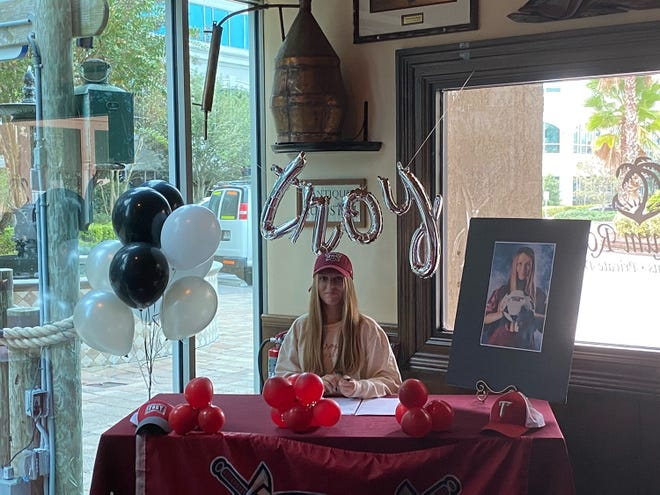 Ponte Vedra's Riley Rojahn has signed to play soccer with Troy University.