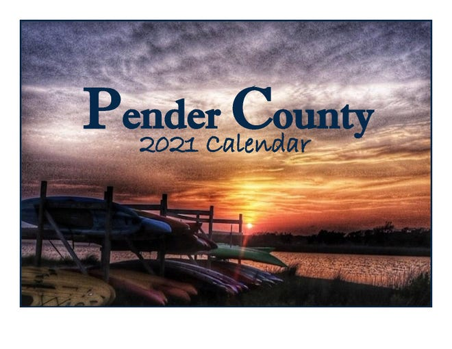 Pender County's Nature calendar is available to purchase.