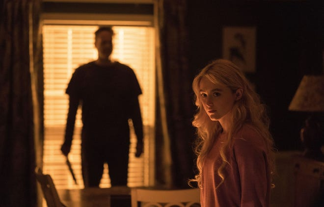 "Vince Vaugh and Kathryn Newton star in ""Freaky."" (Blumhouse Productions/Entertainment Pictures/Zuma Press/TNS)"