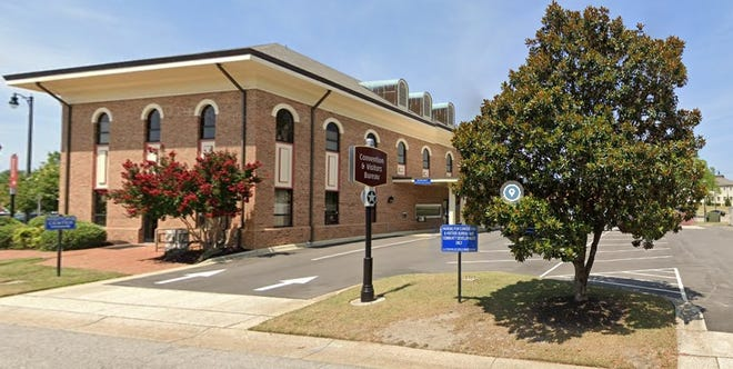Fayetteville Area Convention and Visitors Bureau is located on  Person Street downtown.