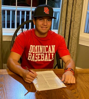 Cornwall senior shortstop Joe Coppola has signed with Division II Dominican. PHOTO PROVIDED