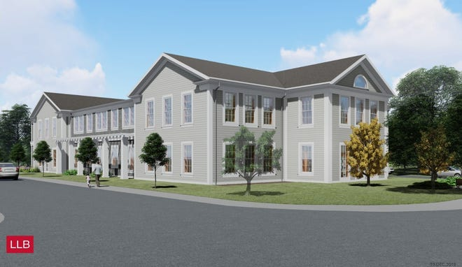 The proposed new Sharon Public Library on School Street was officially denied by the Zoning Board of Appeals on Nov. 9.