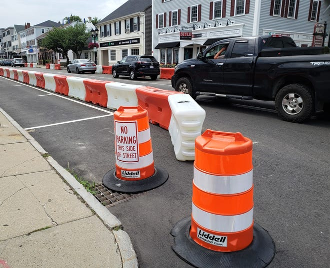 The barriers in Downtown Plymouth will be removed by Nov. 20 and the traffic flow will return to two way.