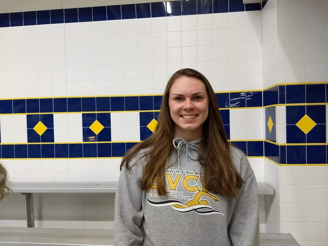 Chilton co-op's Ada Schaefer qualified for the WIAA state swim meet in the 200 medley relay.