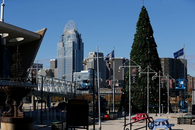 Greater Cincinnati will end the year with seasonable temperatures and will kick off 2021 with rain.