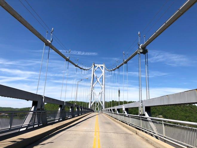 The Simon Kenton Memorial Bridge (US 62) in downtown Maysville will close 9-3 today for special inspection. Detour via US 68 William Harsha Bridge.