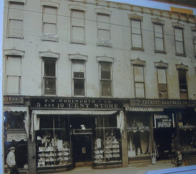 Woolworth was located on Front Street in Fremont at the turn of the last century.