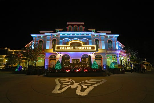 Opening of Dollywood's Smoky Mountain Christmas and Glacier Ridge on Nov. 9, 2020.