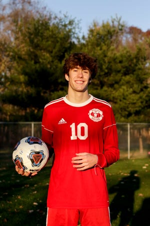 West Lafayette's Carson Cooke is the 2020 Journal & Courier Player of the Year for Boys Soccer.