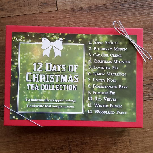 The 12 Days of Christmas Tea Collection is $12.85.