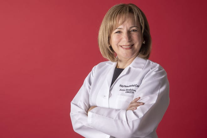 Dr. Anna Shoshilos, an obstetrician/gynecologist with Holy Name Medical Center
