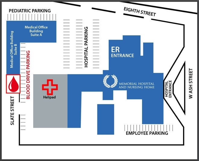 Map of Mimbres Memorial Hospital, Nursing Home and Mimbres Valley Medical Group Campus.