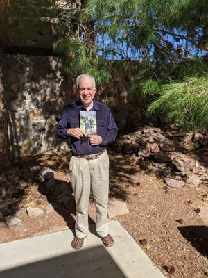 "Local author Harry James Fox earned first place in the 2020 New Mexico-Arizona Book Awards for his critically acclaimed novel, ""A Fire in the West,"" in the Religion category."