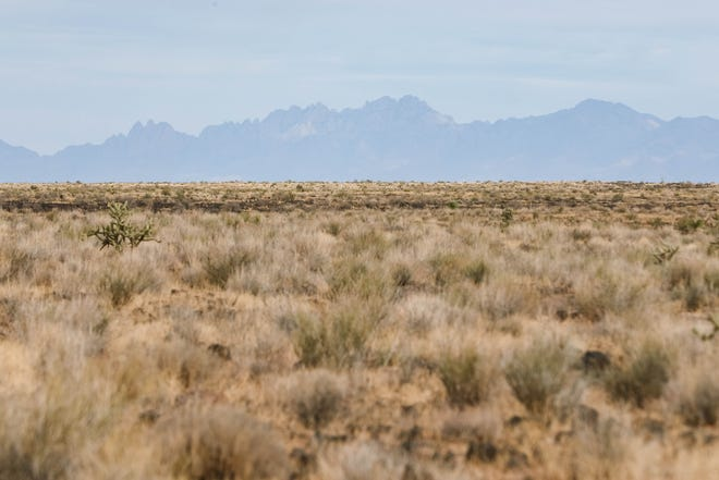 The Aden Lava Flow Wilderness is about 20 miles southwest of Las Cruces.