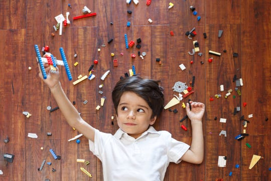 A free set of Legos can make a doctor appointment less traumatic for a child.