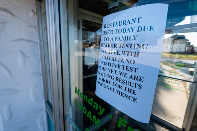 Manis Restaurant in Port Huron won't be hosting its Thanksgiving dinner for the first time in over 15 years due to the coronavirus pandemic.