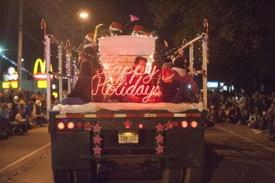 The Greater Millville Chamber of Commerce's annual Christmas parade will be held at 7 p.m. Nov. 27, rain or shine.