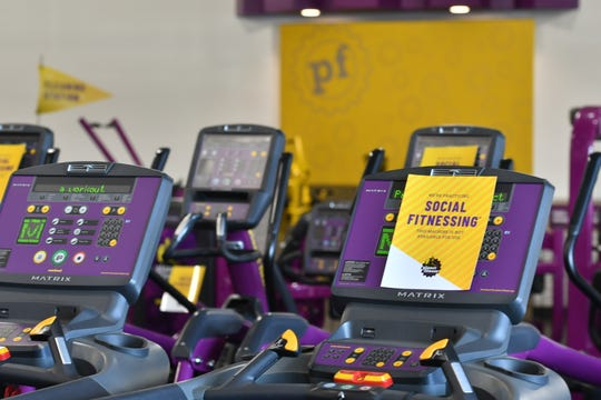"""Planet Fitness has implemented measures to prevent and reduce the risk of coronavirus transmission, an initiative that the gym is calling """"Social Fitnessing."""""""