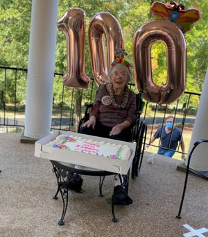 Wilma Kreager turned 100 on Sept. 23. She was born on Sept. 23, 1920 in her parents' house on Coopermill Road in Muskingum County.