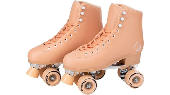 Channel your inner '70s with these fun rollerskates.