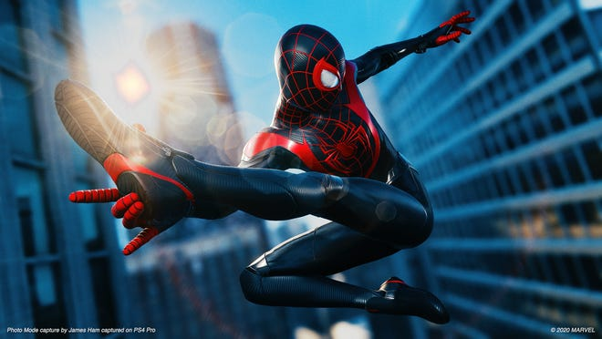 A scene from Marvel's Spider-Man: Miles Morales