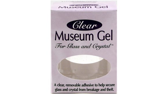 From collectibles to crystal, Museum Gel is actually really handy.