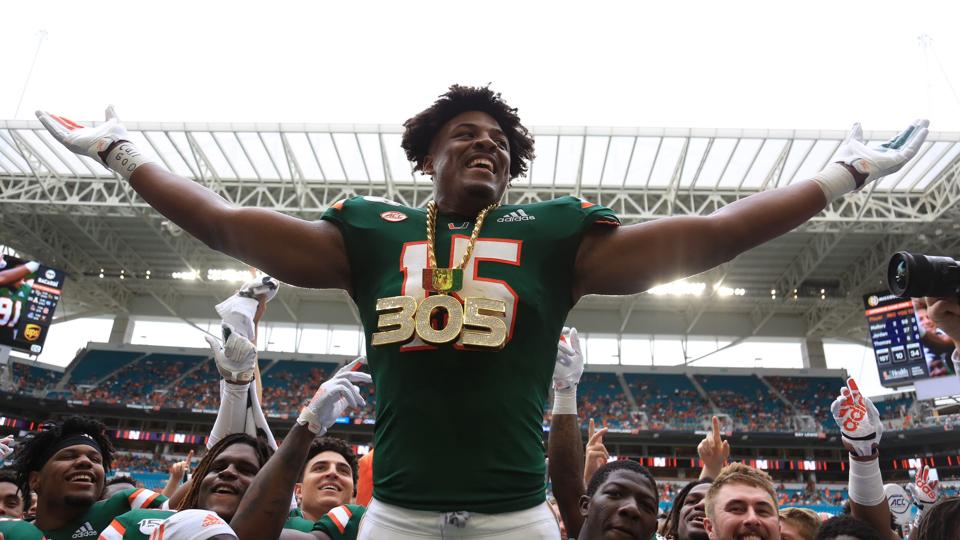 VIDEO: Opting out had benefit for ex-Miami Hurricanes DE Greg Rousseau