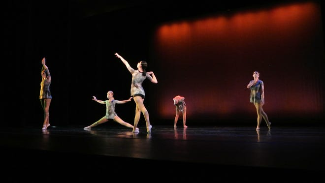 """University of Akron student Lauren Ferster choreographed """"The Value of a Moment"""" for the virtual concert """"We Dance On: A Movement Collaboration."""""""