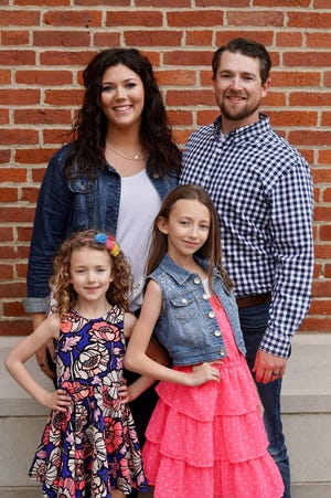Pastor Andy VanVolkenburg joined Alliance First Christian Church over the summer. He brought with him to serve, his wife, Kayla, and daughters Esme and Eloise.