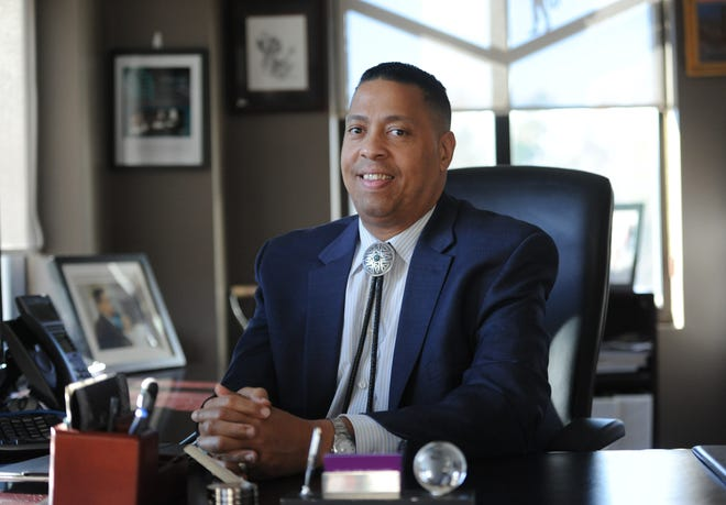 Cedric Cromwell, former tribal council chairman of the Mashpee Wampanoag Tribe, on Thursday pleaded not guilty to federal charges related to a casino project.