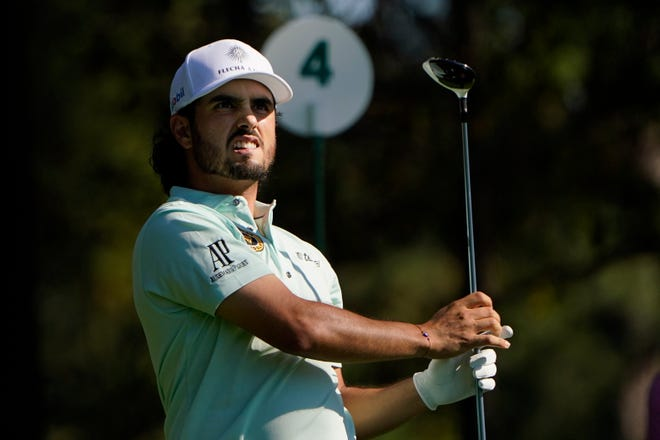 Abraham Ancer ran off six birdies in his round of 5-under 67 that allowed him to join the clubhouse lead.