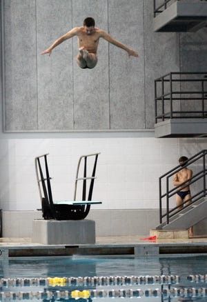 Blue Springs senior diver Josiah Thomson finished fourth at the state meet for the second consecutive year.