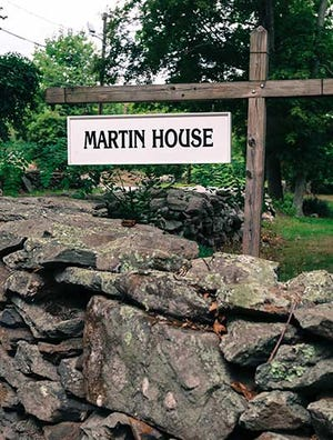 Martin House Farm is located in Swansea, 40 miles west of Plymouth.