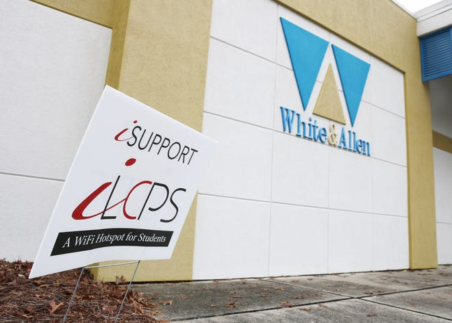 White & Allen Law Firm, located at 106 S. McLewean St. in Kinston, offers free Wi-Fi to Lenoir County Public School students during remote learning.