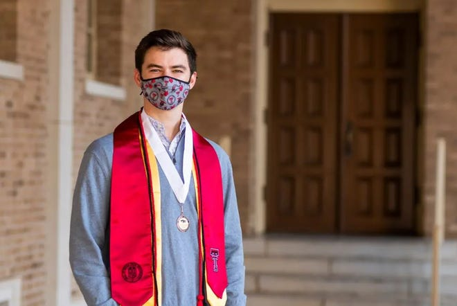 Texas Tech University senior Klay Davis is thrilled he'll have the chance to graduate college in-person this December. But faculty across the state are concerned large in-person commencements at multiple schools could become super spreader events for COVID-19.