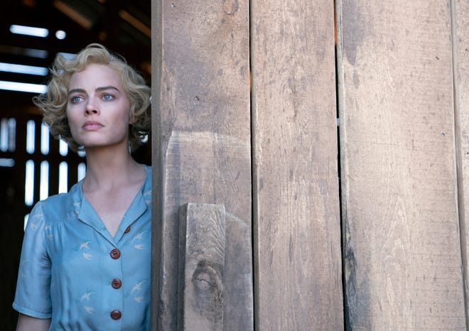 "This image released by Paramount Pictures shows Margot Robbie in a scene from ""Dreamland."""