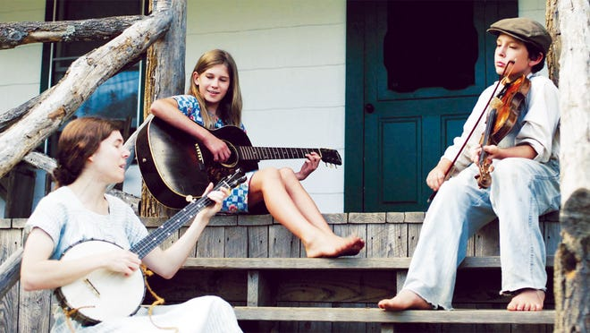 Elizabeth LaPrelle, Hazel Pasley and Asa Nelson perform in 'The Mountain Minor.'