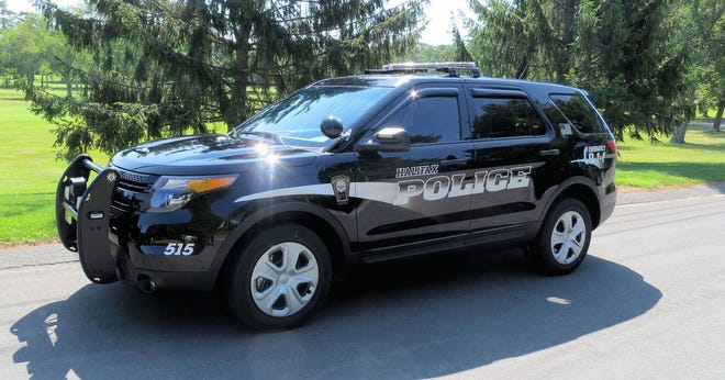 A Halifax police car is shown in this undated file photo.