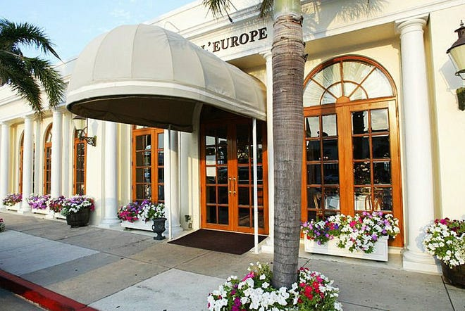 Cafe L'Europe  will feature Parisian-style outdoor seating when it reopens this month. Courtesy Cafe L'Europe.